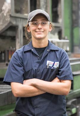 Concorde Female Employee