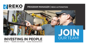 Program Manager Reko
